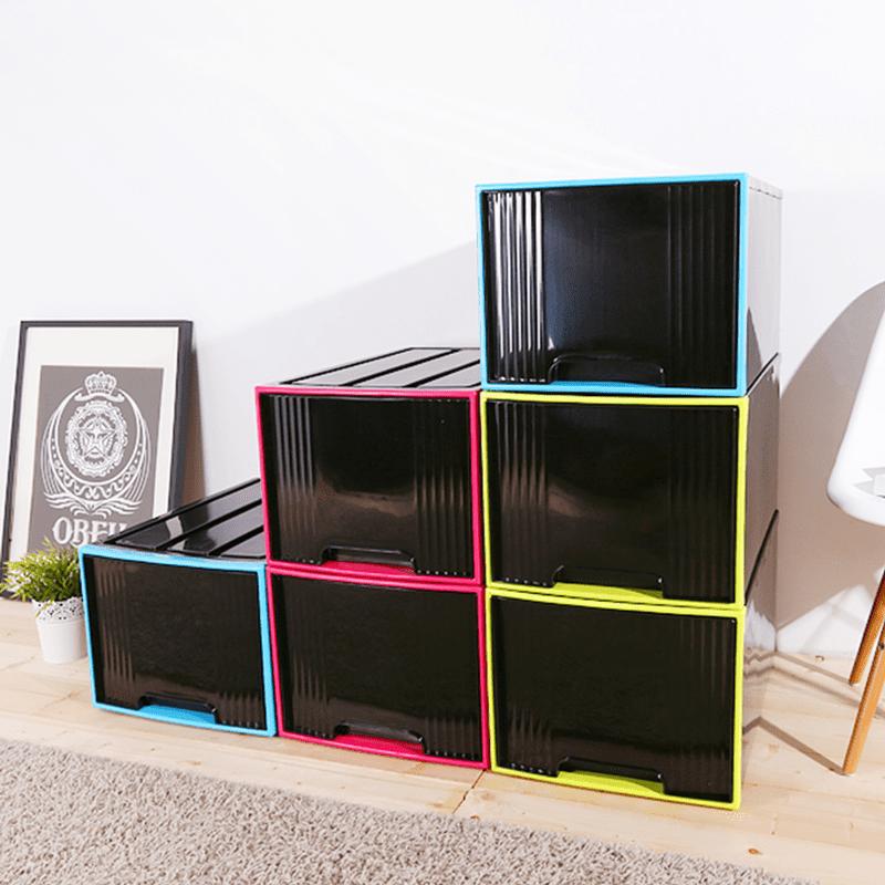 【HOUSE】堆疊置物65L抽屜收納箱 收納櫃/收納盒/置物箱/居家收納