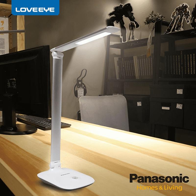 【Panasonic國際牌】LED檯燈觸控式三軸旋轉HH-LT060809太空銀