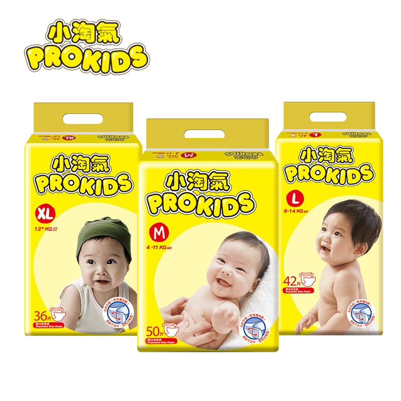 箱購-小淘氣透氣乾爽嬰幼兒紙尿褲