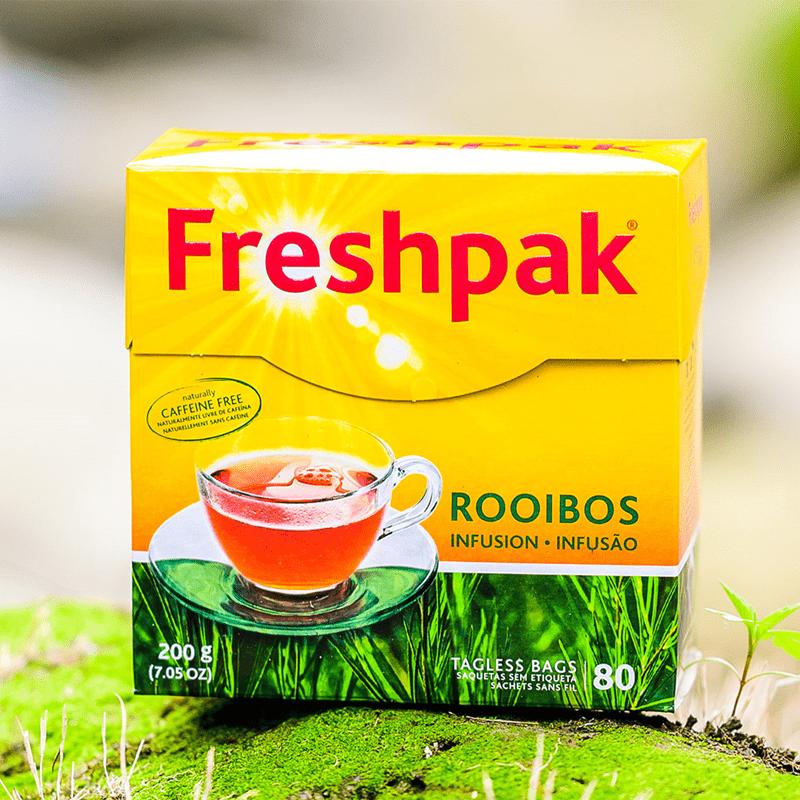【即期品】Freshpak南非國寶茶 RooibosTea 茶包-新包裝2.5克