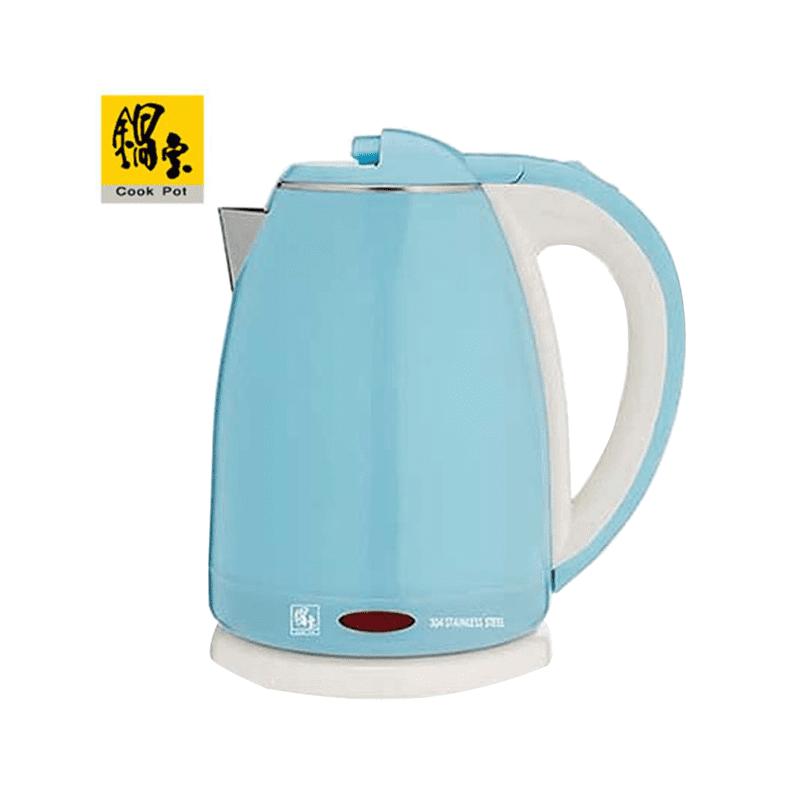 【鍋寶】#316雙層防燙保溫快煮壺1.8L-型(兩色任選) KT-1891B
