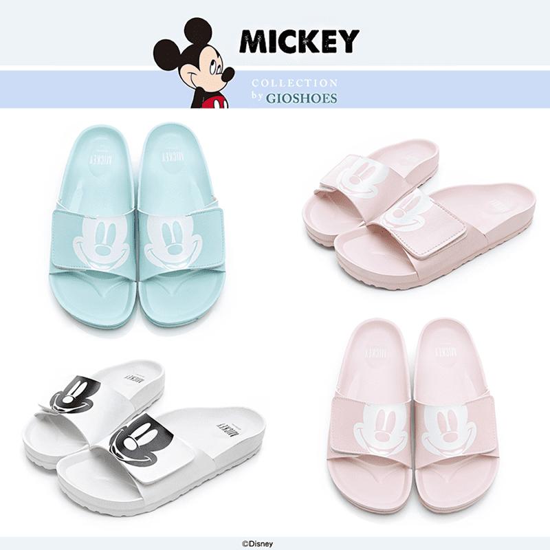 Disney迪士尼俏皮米奇休閒拖鞋