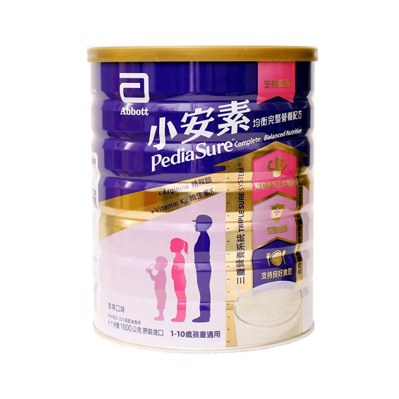 亞培 小安素均衡營養配方1600g 1-10歲兒童設計/增進骨骼成長、補膳食纖維