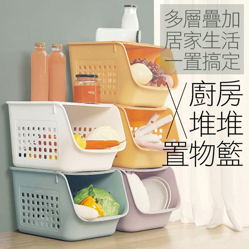 日式可堆疊置物收納櫃