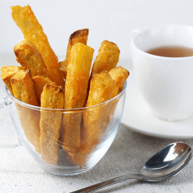 酥脆黃金脆皮地瓜薯條(10 包)