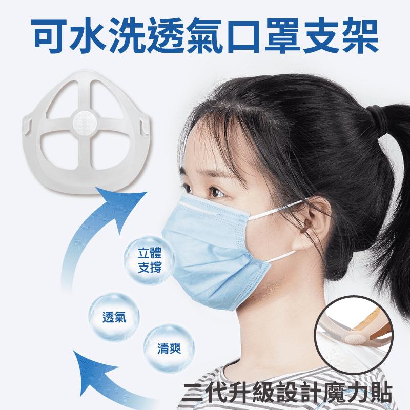 【DaoDi】第二代水洗透氣口罩支架