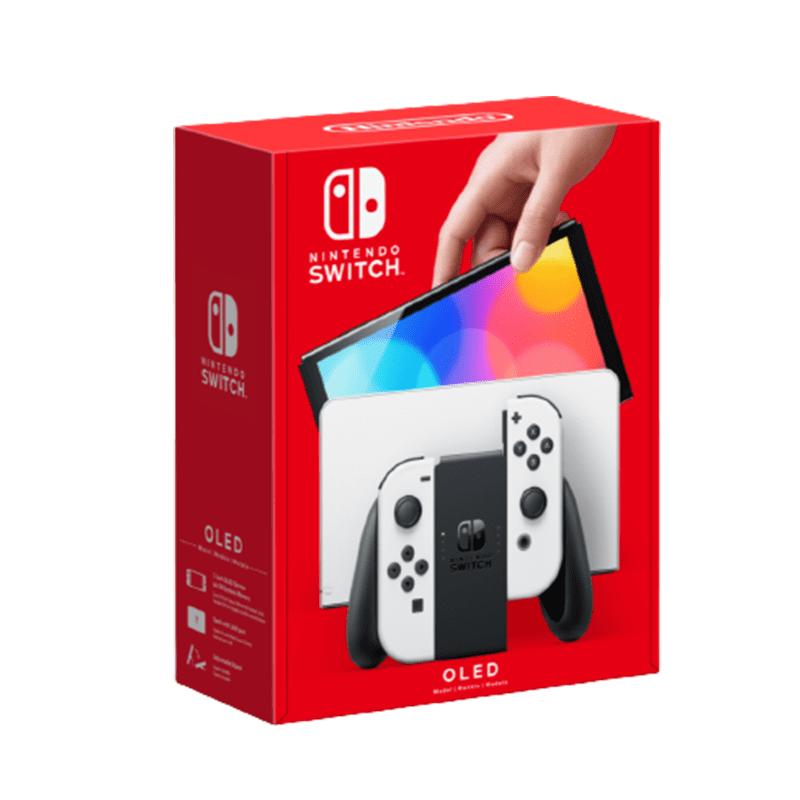【Nintendo任天堂】Switch OLED主機 白色/紅藍 台灣公司貨