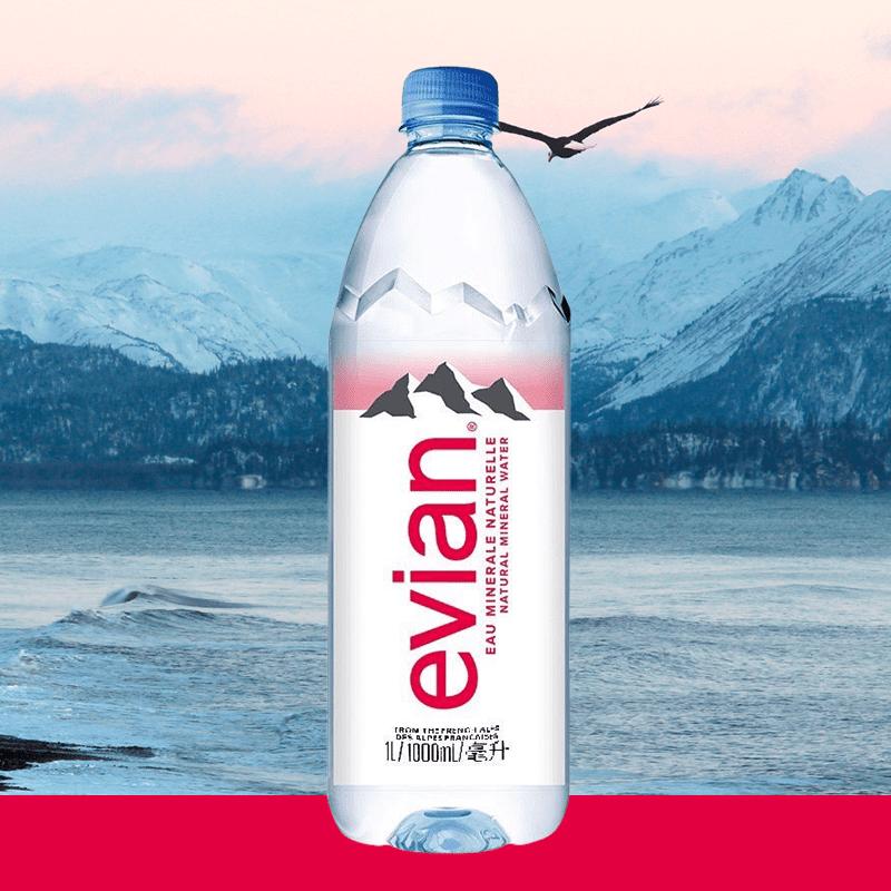 法國 Evian 依雲 天然礦泉水
