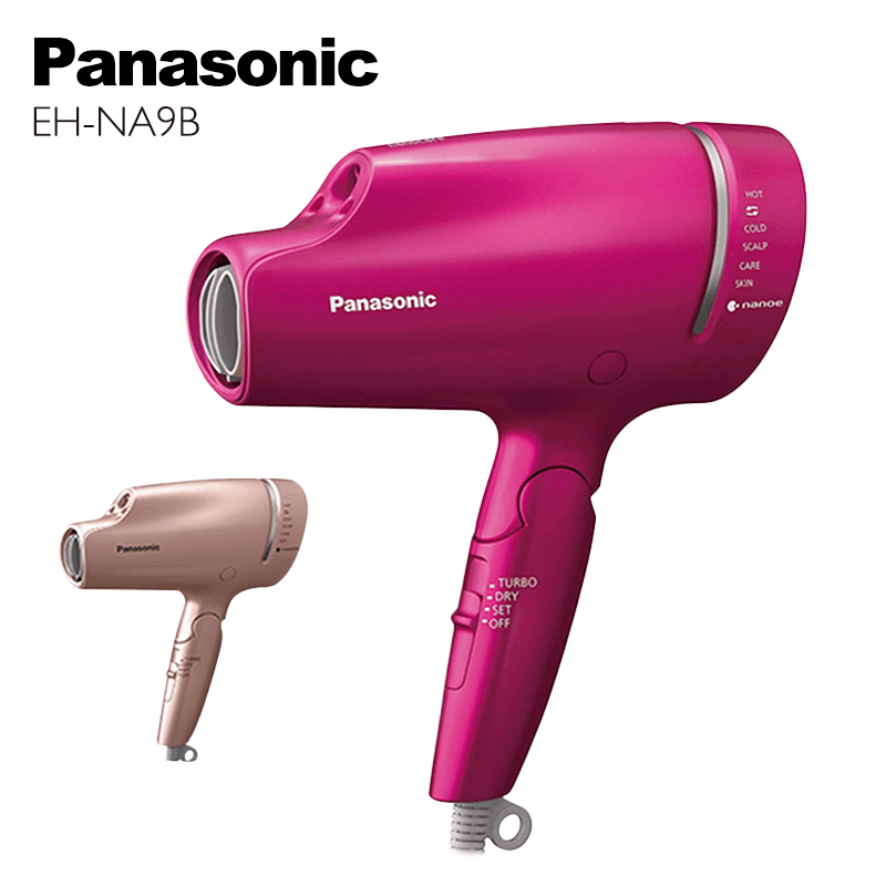 【Panasonic 國際牌】奈米水離子吹風機(EH-NA9B-PN)