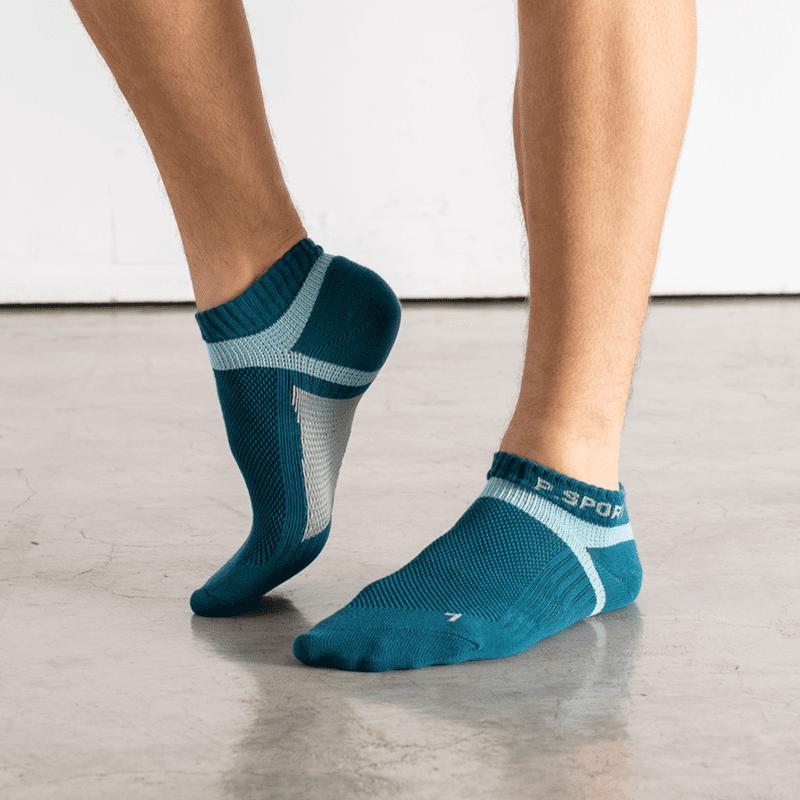 貝柔PEILOU台灣輕量足弓機能護足襪