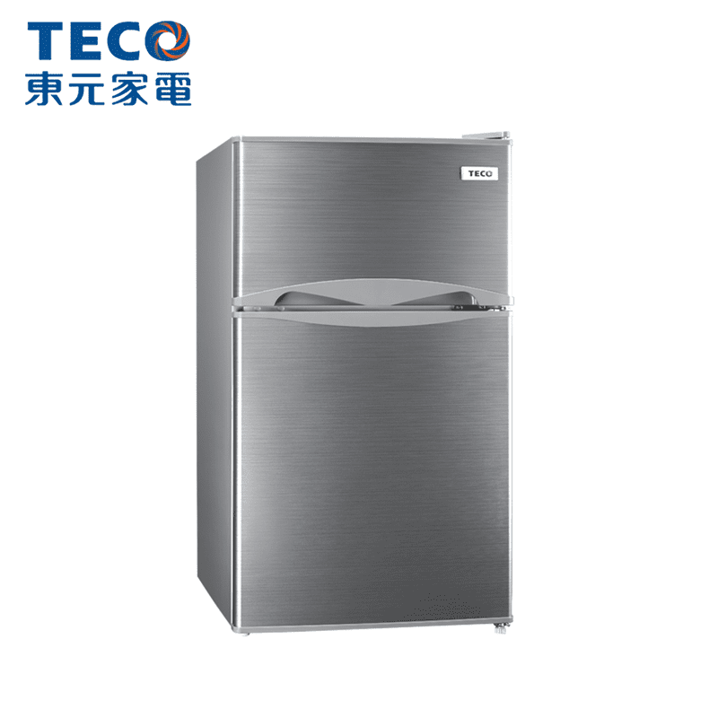 【TECO東元】100L一級節能雙門小冰箱