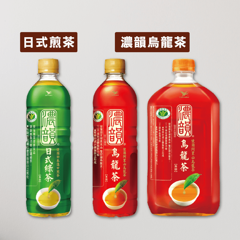 【濃韻】濃韻烏龍茶975mlx12入/箱(國家健康食品雙認證)