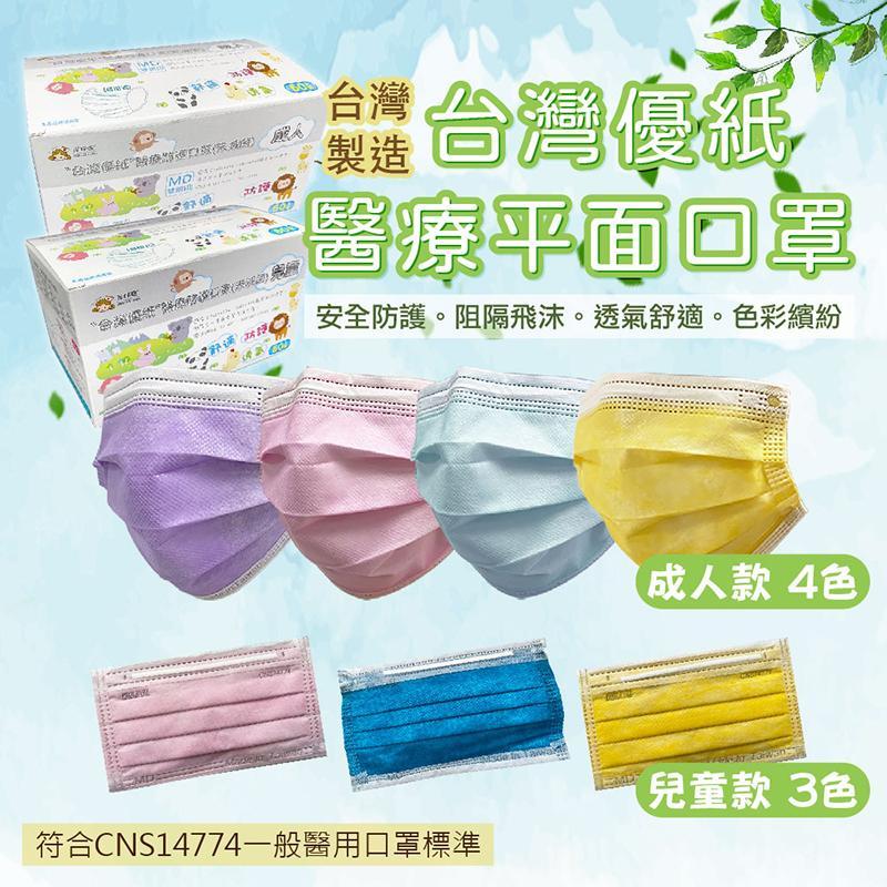台灣優紙A+醫療級口罩