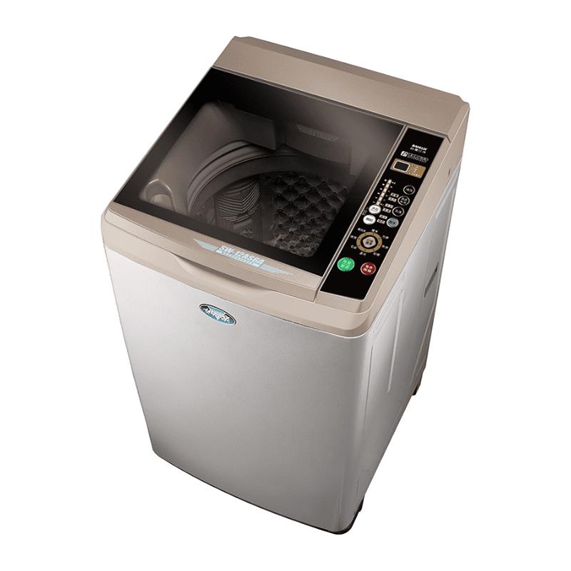 【SANLUX 台灣三洋】17Kg內外不鏽鋼超音波洗衣機(SW-17AS6)