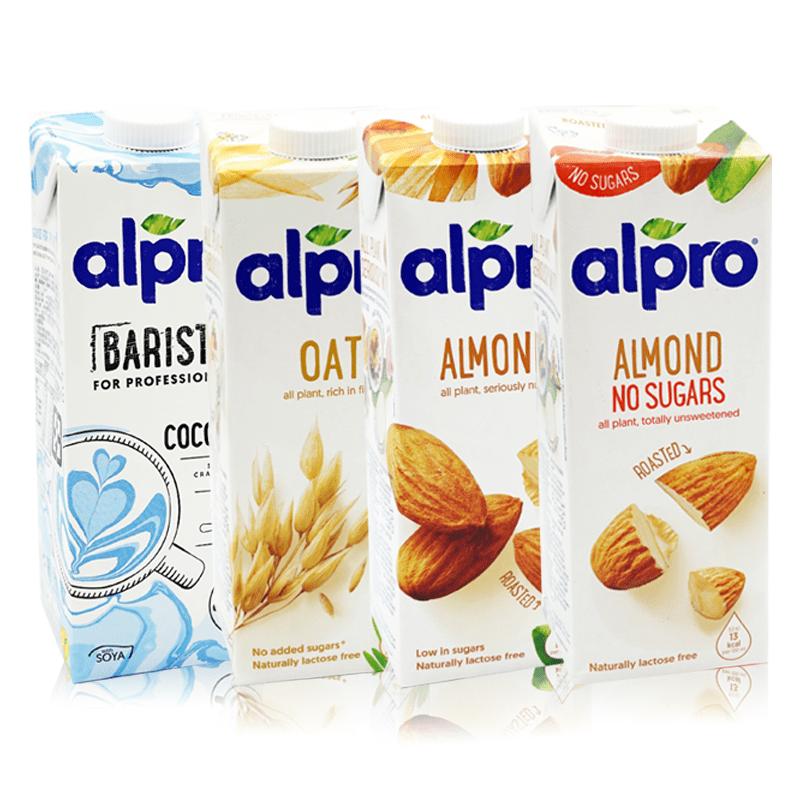 【ALPRO】植物奶燕麥奶杏仁奶飲品系列