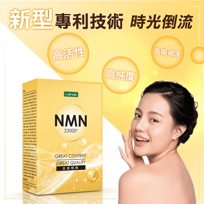 iVENOR-專利研發NMN保養錠(高濃度25000+)
