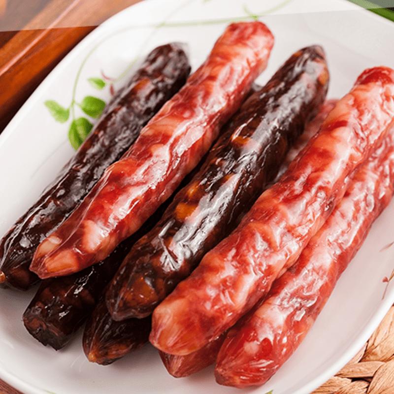 南門市場上海火腿肝臘腸