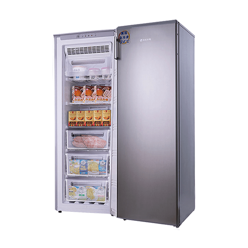 【HAWRIN華菱】220L直立式冰櫃 直立式冷凍櫃 HPBD-220WY