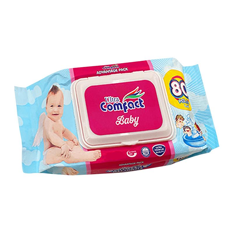 康芙特純水潔膚濕紙巾(6 包)