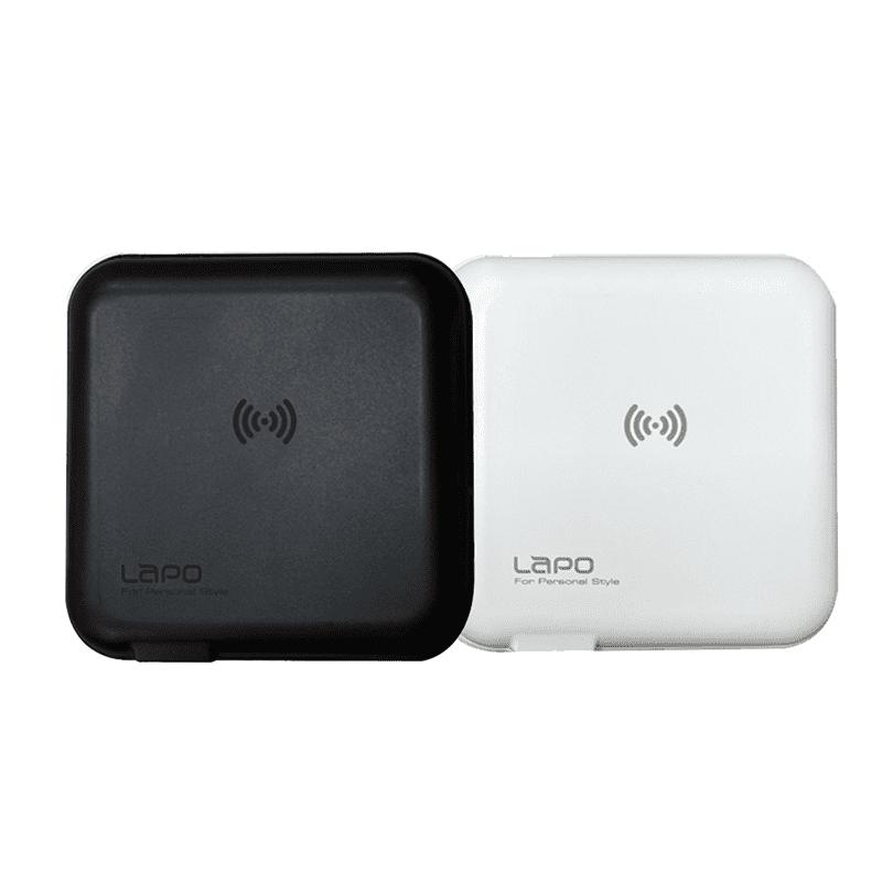 LAPO All in one 無線充電行動電源 雙口輸出自帶線(WT-01AW