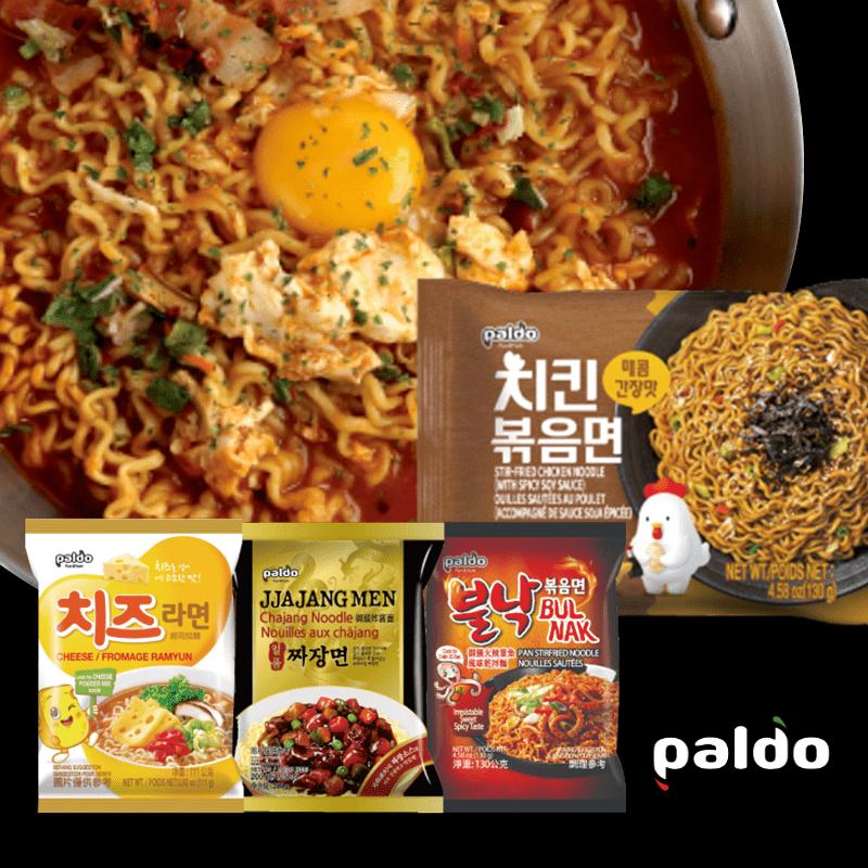 韓國Paldo泡麵熱銷款