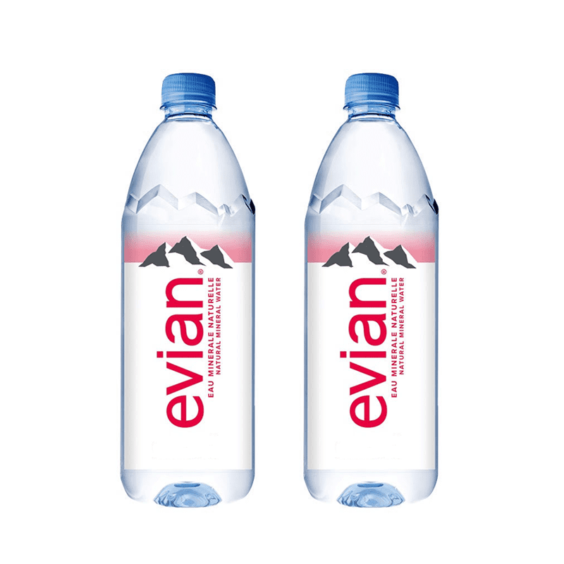 【Evian 依雲】依雲天然礦泉水500ml(6入/PET)(24 瓶)