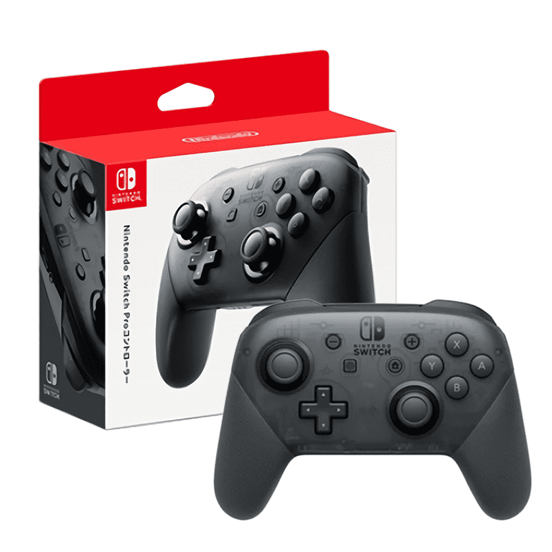 【Nintendo 任天堂】原廠Switch Pro控制器(台灣公司貨)